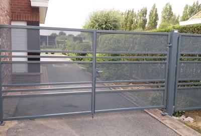 Moderne perforatie poort - Torhout
